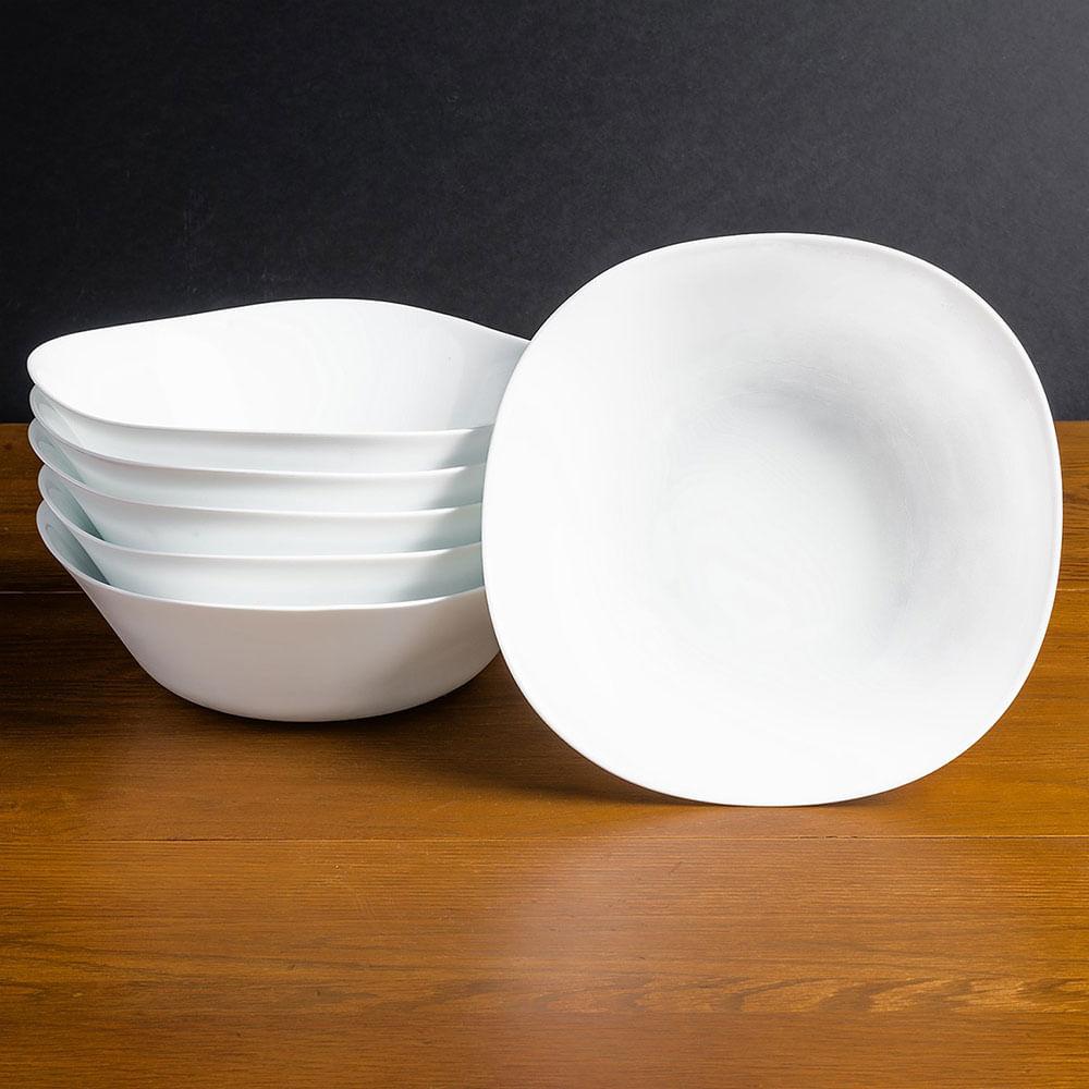 Plato para ensalada parma 24 cm bormioli rocco glass for Platos para