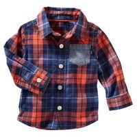 camisa-cuadros-camiseta-oshkosh-oskosh-oshkosh--ninos-niños-bebes-414g049-tallas-meses-209658-otoño-tallas-9M