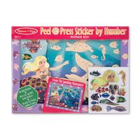 set-de-arte-stickers-sirena-y-peces-melissa-and-doug-md4297