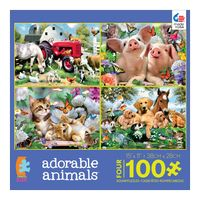 set-de-4-rompecabezas-adorable-animals-ceaco-cea31011