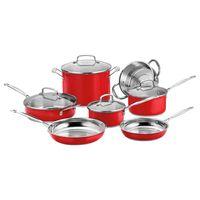 juego-de-ollas-11-piezas-chefs-classic-rojo-cuisinart-CSS11MR