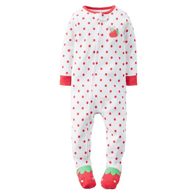 pijama-pyjama-piyama-meses-carters-carter-s-otoño-fall--descansar-dormir-tallas--puntos-fresas-ninas-niñas-12m-211400-331g061
