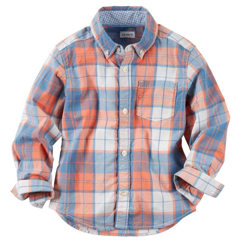 carters-carter-s-primavera-verano-kids-ropa-225G296-212213-tallas-24M-camisas-ninos-niños-cuadros-bebes-primavera-ropa