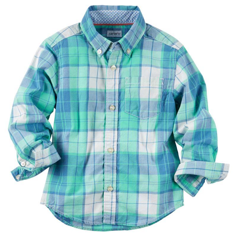 carters-carter-s-primavera-verano-kids-ropa-225G298-212215-tallas-24M-camisas-ninos-niños-bebes-cuadros-primavera-ropa