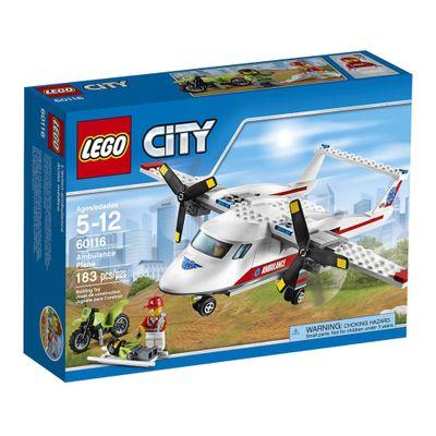 lego-city-avion-ambulancia-60116