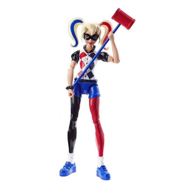muneca-superheroe-harley-quinn-mattel-dmm36