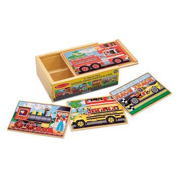 set-de-4-rompecabezas-vehiculos-melissa-and-doug-md3794