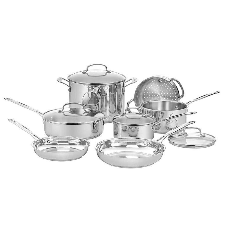 juego-de-ollas-11-piezas-chefs-classic-plateado-cuisinart-7711G