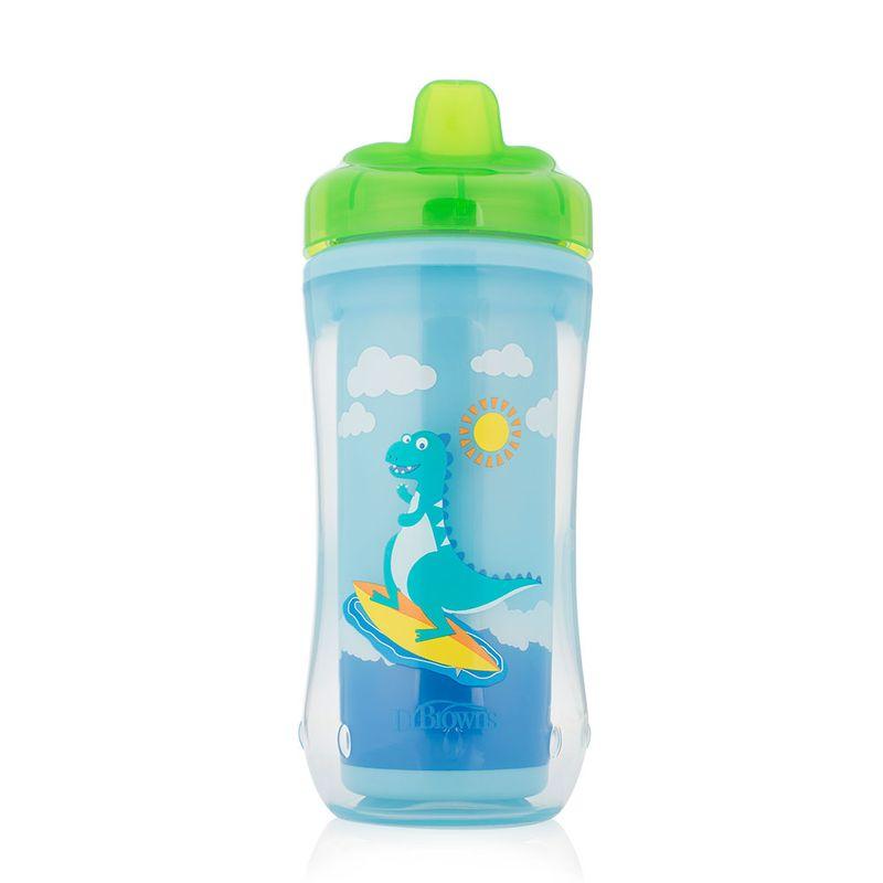 vaso-azul-con-boquilla-verde-10-oz-dr-brown-TC01001P6V