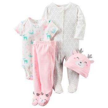 set-de-pijama-de-4-piezas-carters-126G405