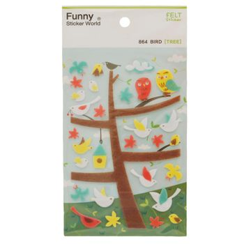 stickers-bird-tree-iwako-23613