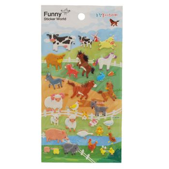 stickers-farm-animals-iwako-31434