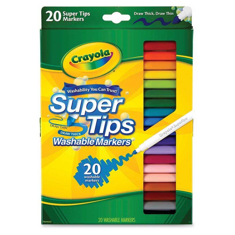 set-20-marcadores-lavables-super-tip-crayola-588106
