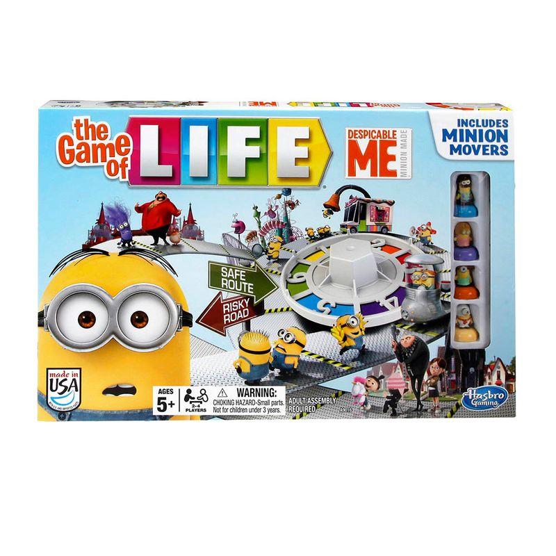 Juego De Mesa Life Despicable Me Minions Hasbro Miscelandia
