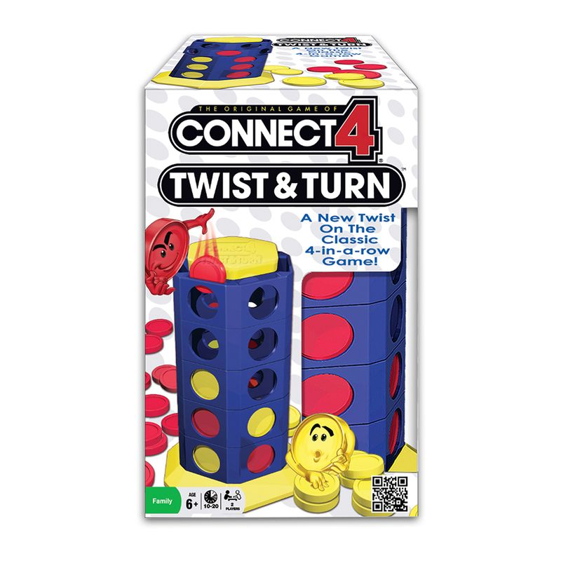 Juego De Mesa Connect 4 Twist And Turn Hasbro Miscelandia
