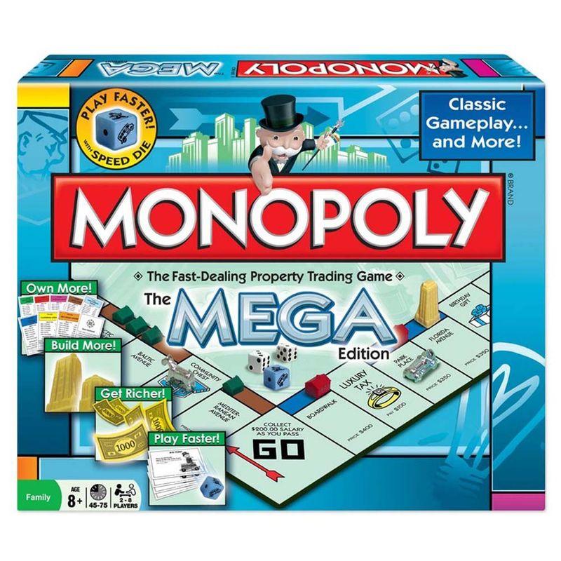 Juegos De Mesa Monopoly Mega Winning Games Miscelandia