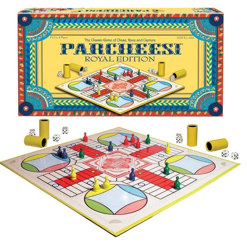 Juego De Mesa Parcheesi Royal Edition Winning Games Miscelandia