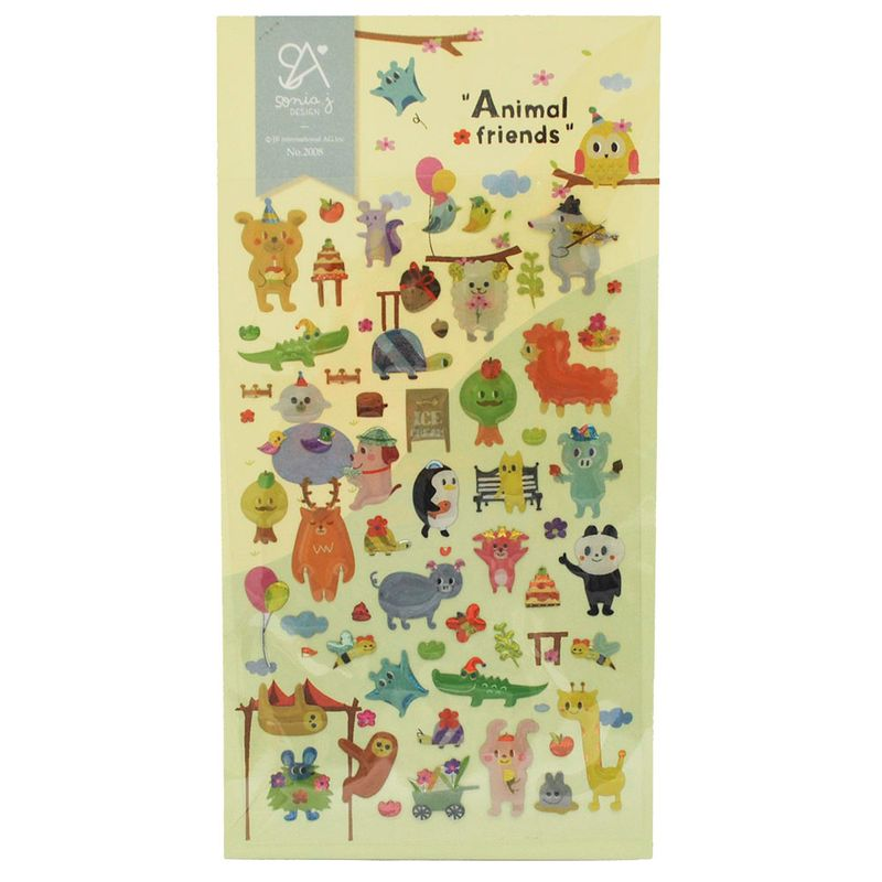 stickers-animales-iwako-iw2008