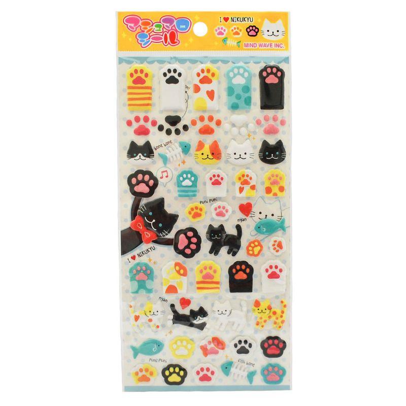 stickers-cats-i-love-nikukyu-iwako-iw72147