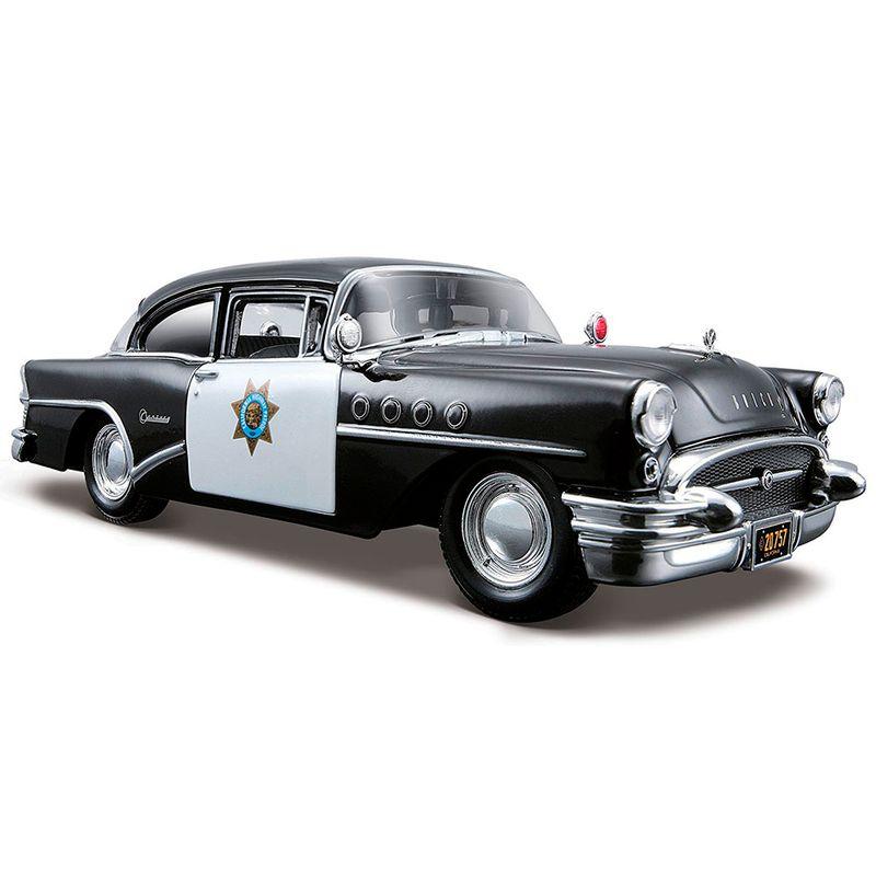 carro-coleccion-1955-buick-century-police-maisto-31295