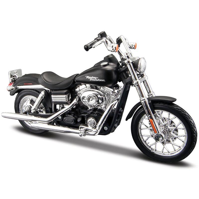 moto-coleccion-harley-davidson-2006-fxdbi-dyna-street-bob-maisto-31360AH5