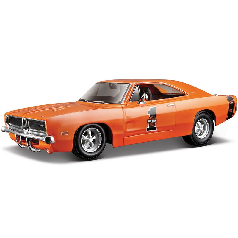carro-coleccion-1969-dodge-charger-maisto-32196