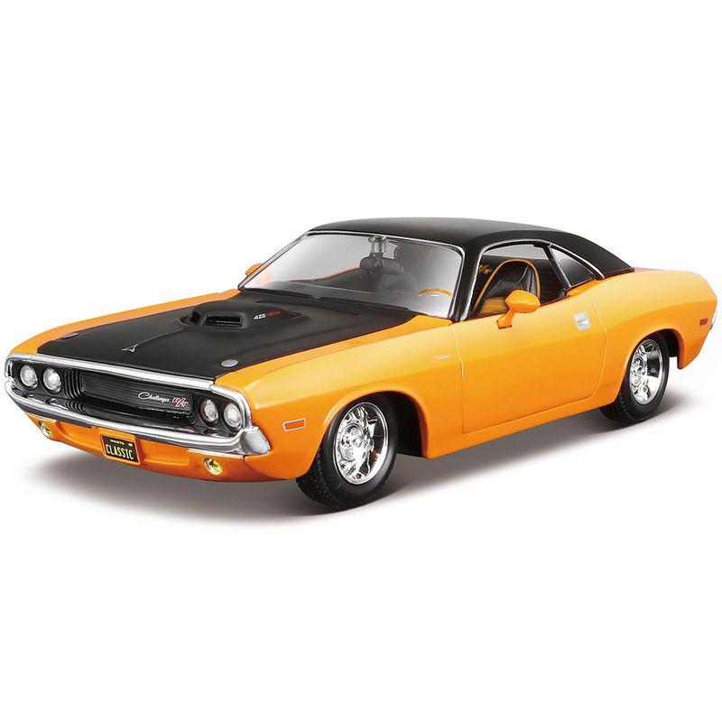 carro-coleccion-1970-dodge-challenger-rt-maisto-32518
