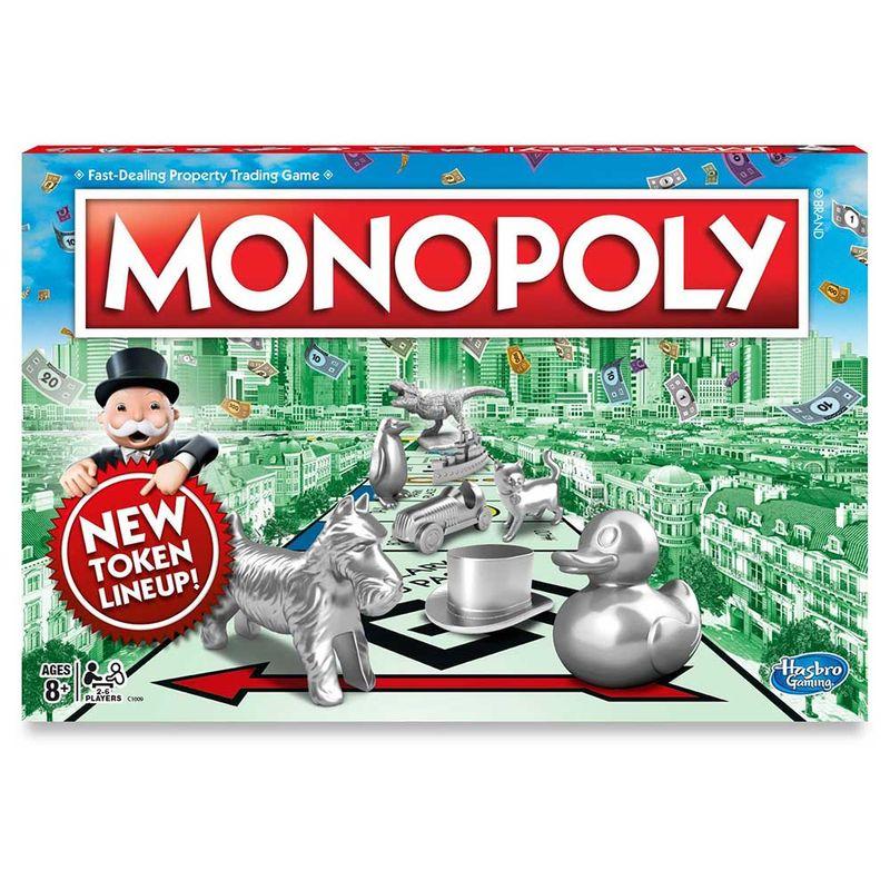 Juego De Mesa Monopolio Hasbro Miscelandia