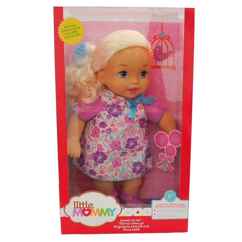 muneca-my-little-mommy-floral-mattel-bcr48