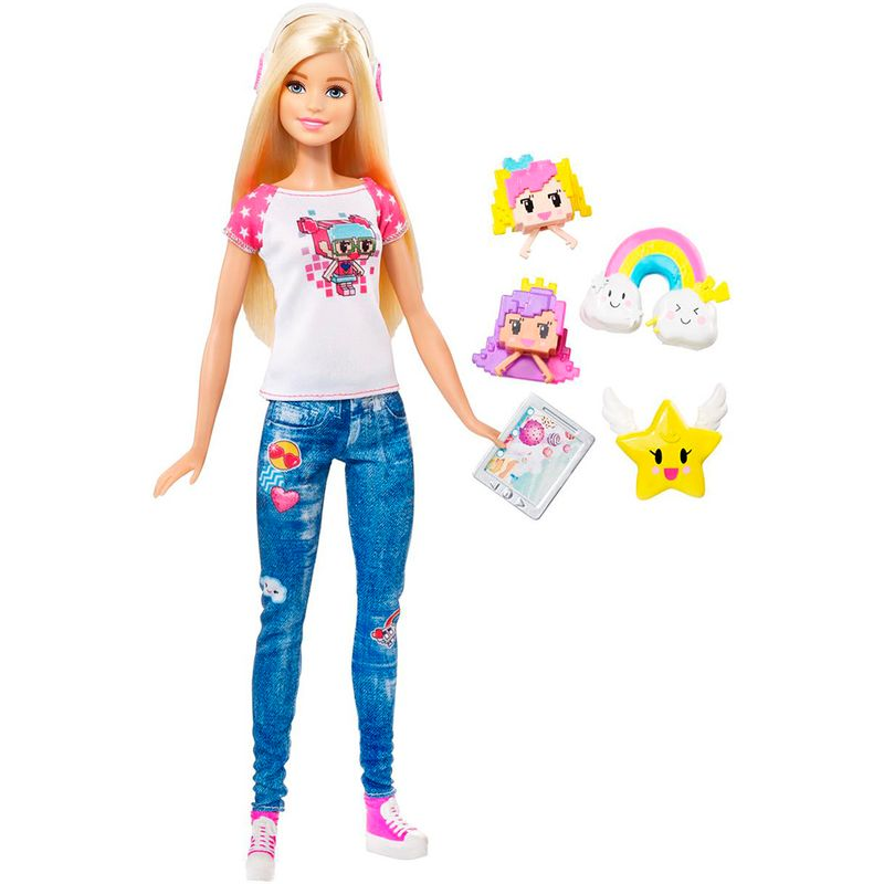 Muñeca Barbie Video Hero Barbie Muñeca Video Game SUVpqMz