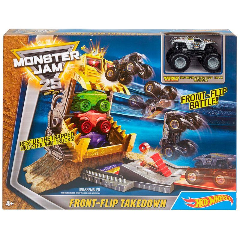 pista-hot-wheels-monster-jam-front-flip-takedown-mattel-dxb05