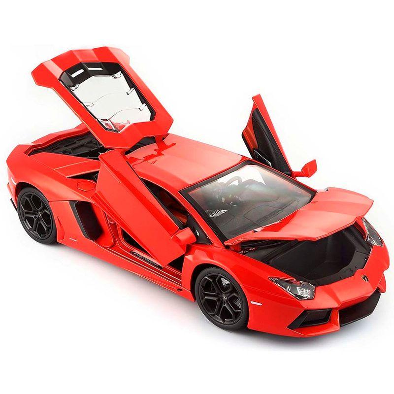 Carro De Coleccion Lamborghini Aventador Bburago Miscelandia