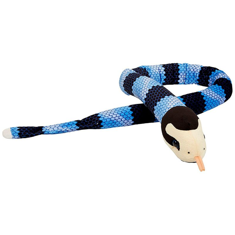 peluche-serpiente-de-mar-big-head-blue-lipped-wild-republic-13276