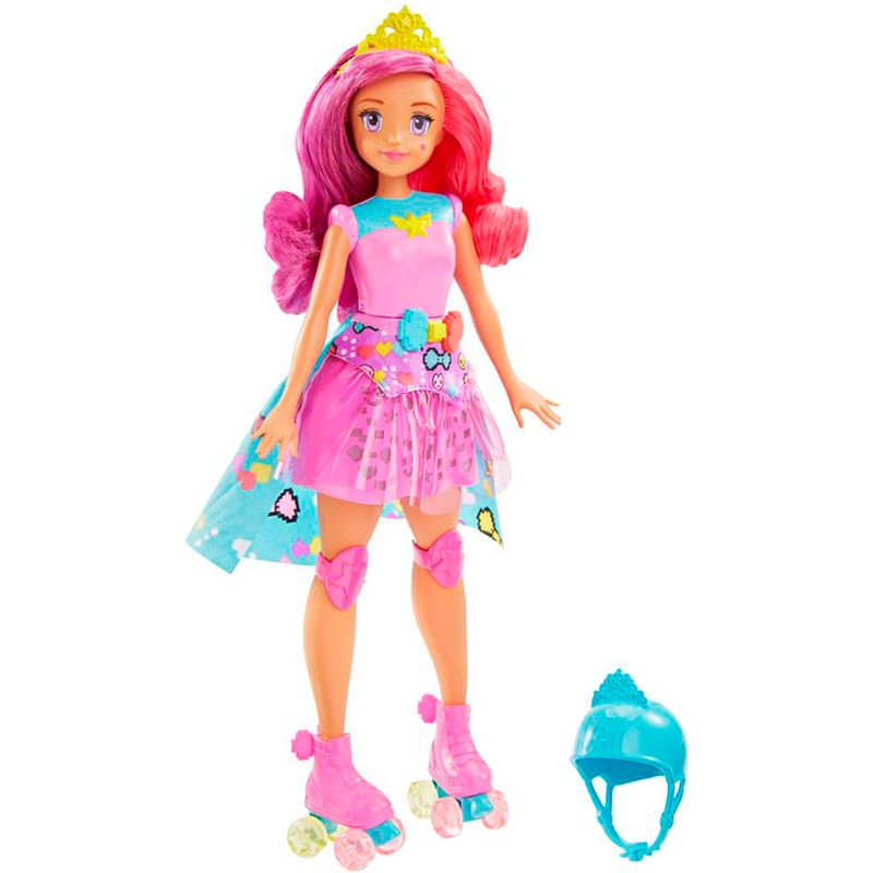 muneca-barbie-video-game-hero-mattel-DTW00
