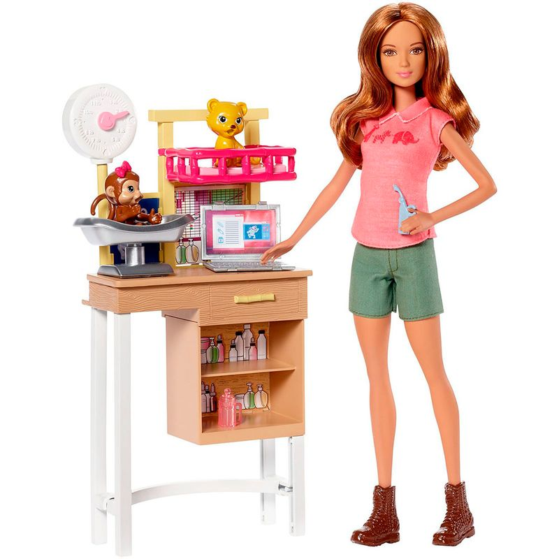 muneca-barbie-doctora-zoo-mattel-DVG11