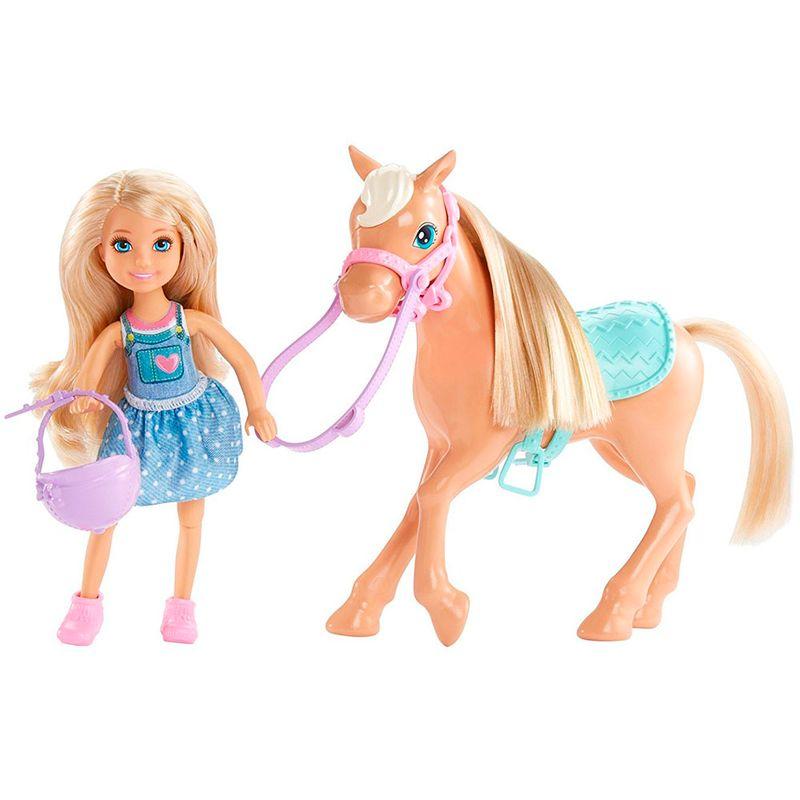 muneca-barbie-chelsea-y-pony-mattel-DYL42