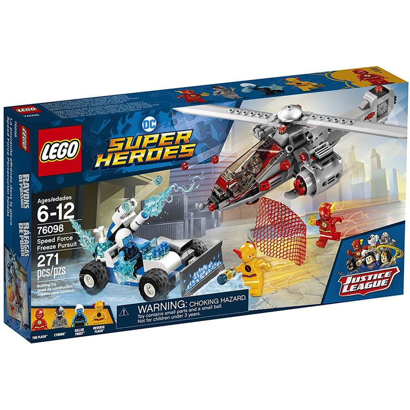 Lego Speedforce Heroes Freeze Dc Pursuit LAjqc435R