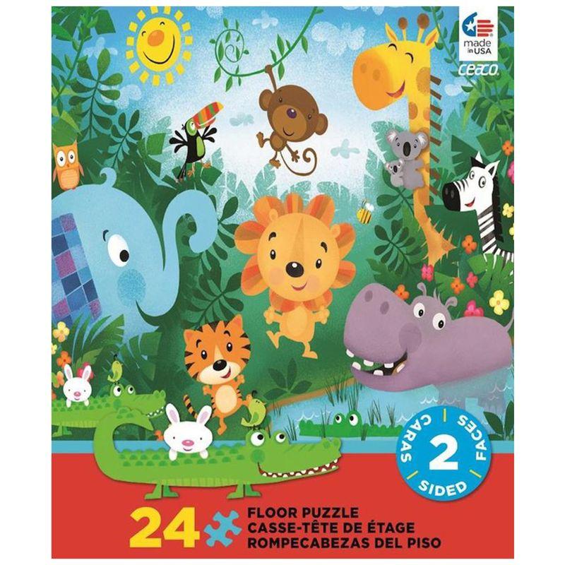 rompecabezas-2-caras-piezas-jungle-ceaco-cea17181