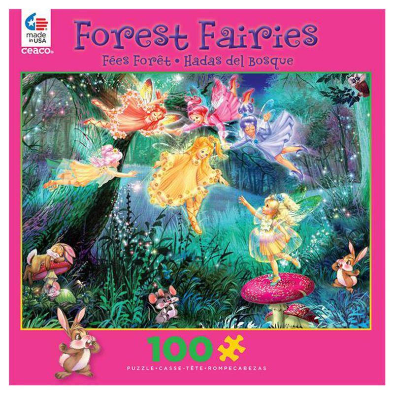 rompecabezas-100-piezas-forest-fairies-ceaco-cea16514