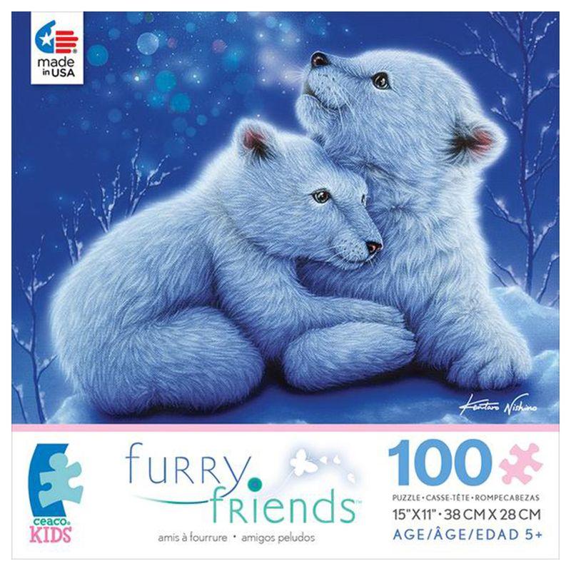 rompecabezas-100-piezas-furry-friends-osos-polares-ceaco-cea16535