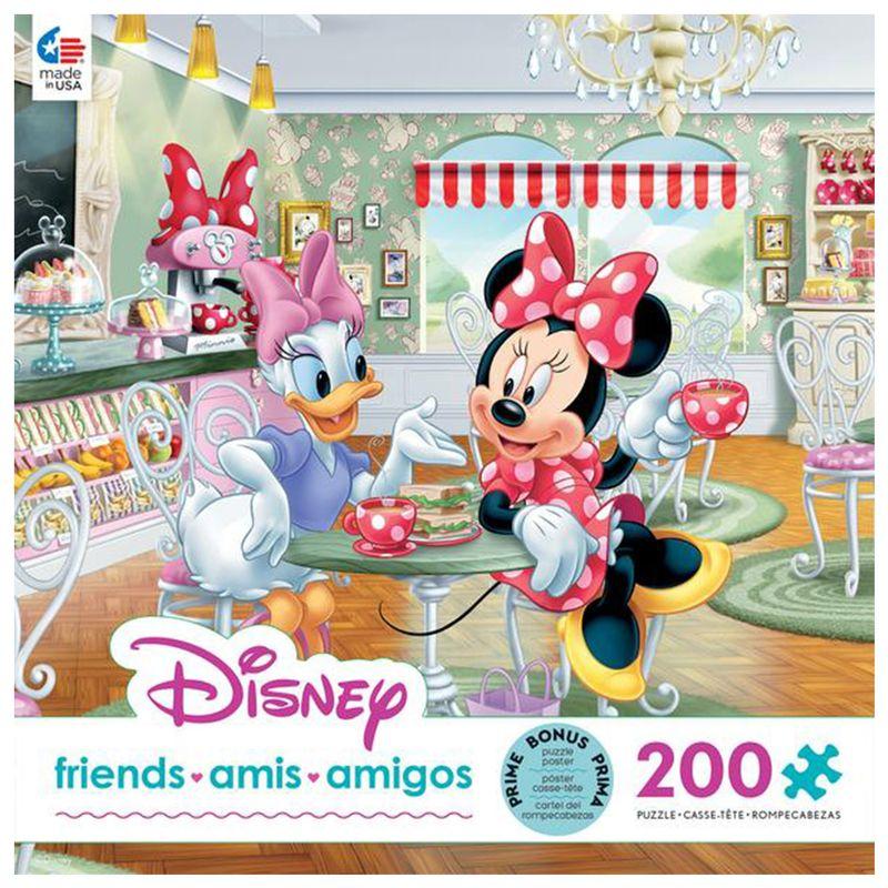 200 Y Piezas Café Miscelandia Daisy Rompecabezas Disney Minnie Ceaco 7vw7qd
