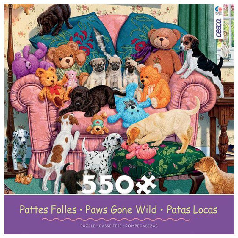 rompecabezas-550-piezas-paws-gone-wild-ceaco-cea23234