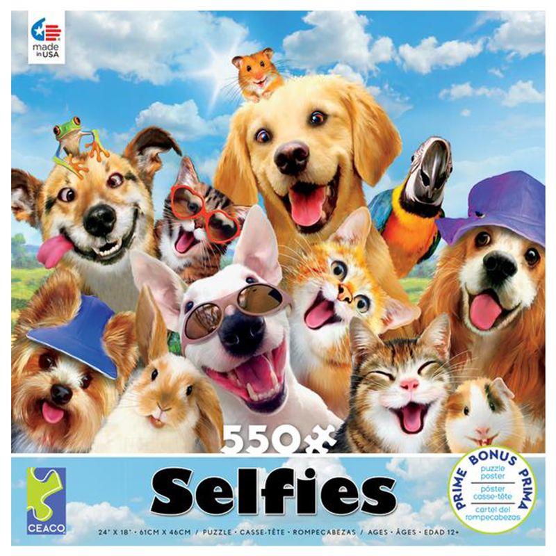 rompecabezas-550-piezas-selfies-ceaco-cea23276