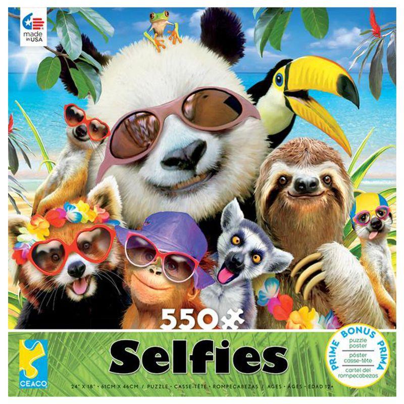 rompecabezas-550-piezas-selfies-ceaco-cea23277