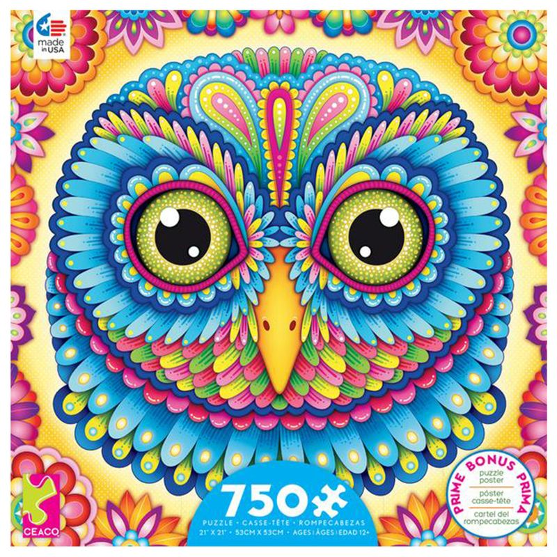 rompecabezas-750-piezas-groovy-animals-ceaco-cea29221