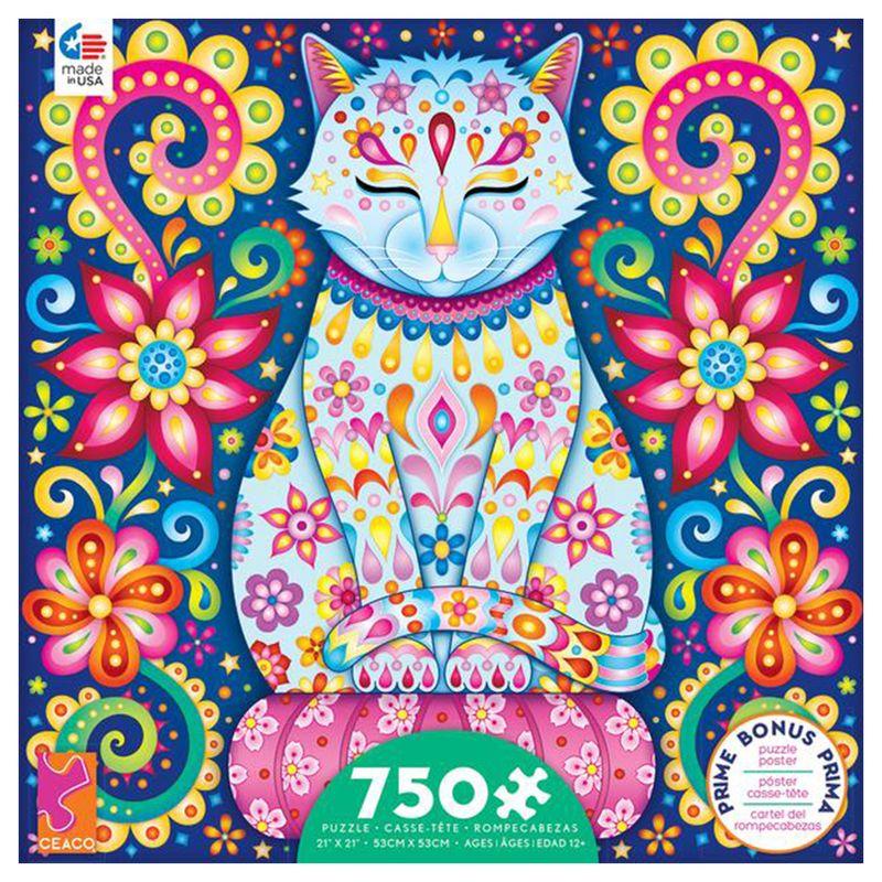 rompecabezas-750-piezas-groovy-animals-ceaco-cea29222