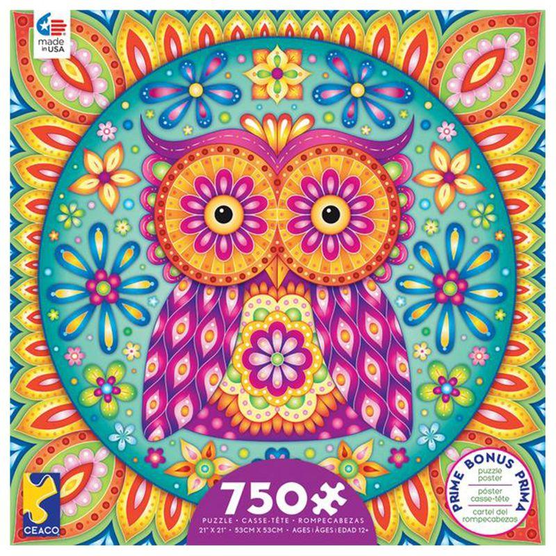 rompecabezas-750-piezas-groovy-animals-ceaco-cea29223