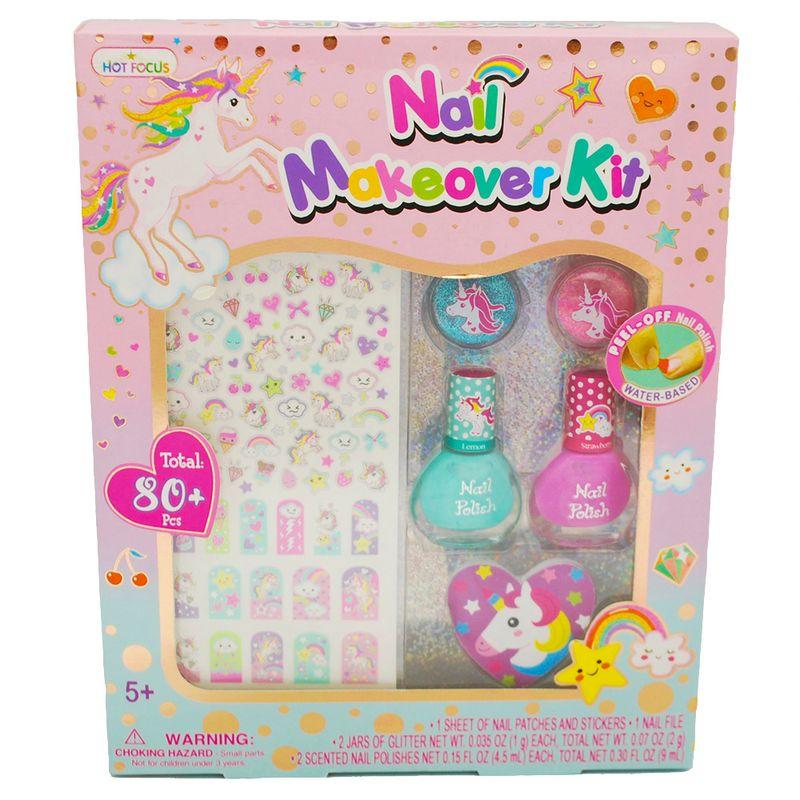 set-manicure-ninas-unicornio-hot-focus-046bluc