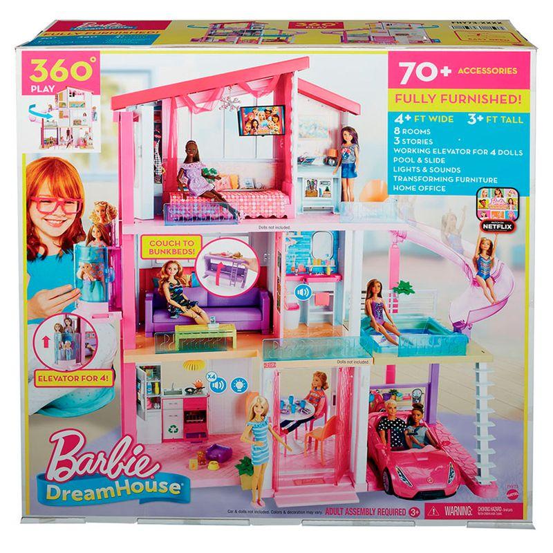 Casa Mansion Barbie Mattel Miscelandia