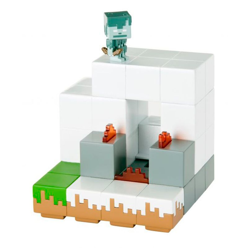 set-minecraft-igloo-ambush-mattel-flt70